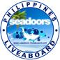 Seadoors Logo Diving Liveaboard Philippines Tubbataha